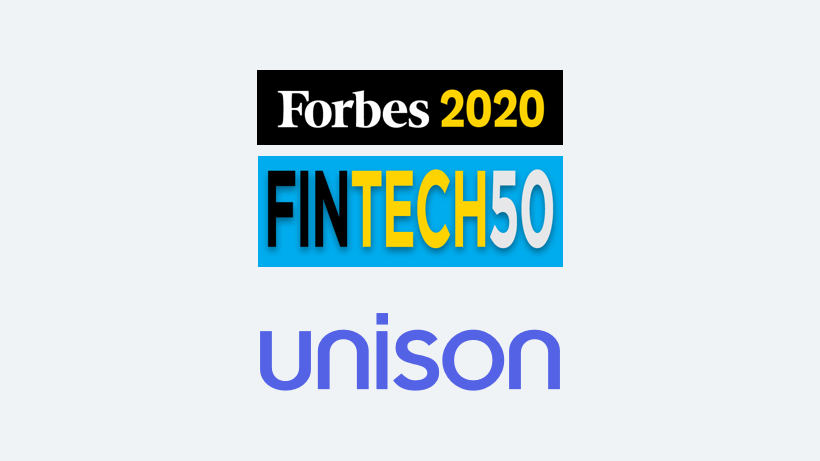 Unison Named To Forbes Fintech 50